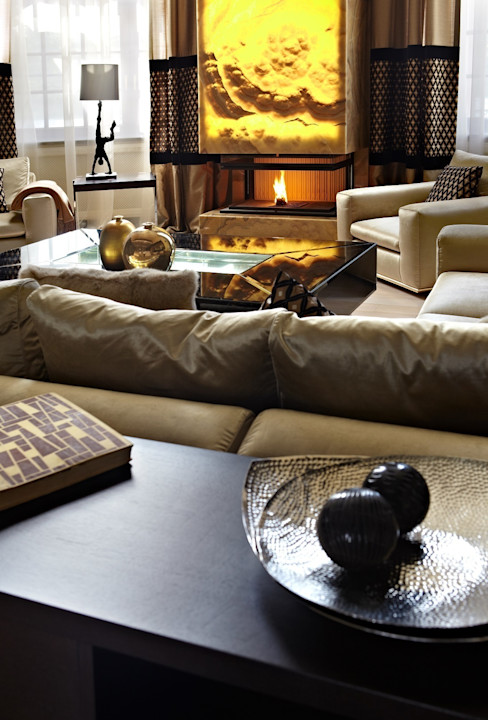 point-design.ru Modern Living Room