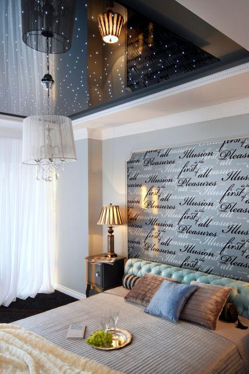 livinghome wnętrza Katarzyna Sybilska Eclectic style bedroom
