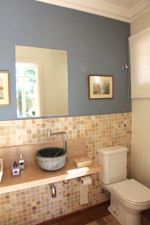 Ornella Lenci Arquitetura Colonial style bathroom