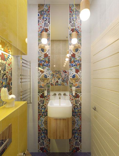 Сан.узел 2 PlatFORM Ванная комната в стиле минимализм