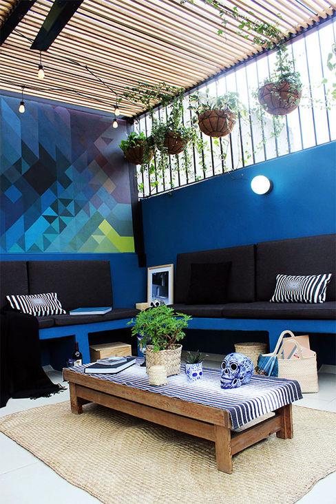 NINA SAND Modern Terrace