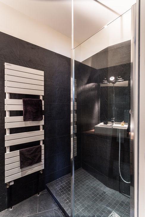 Rénovation d'un appartement à Lyon 6e homify Salle de bain moderne