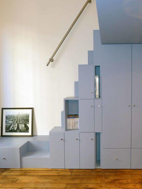 Escalier Pierre Georges Architecte ChambreLits & têtes de lit