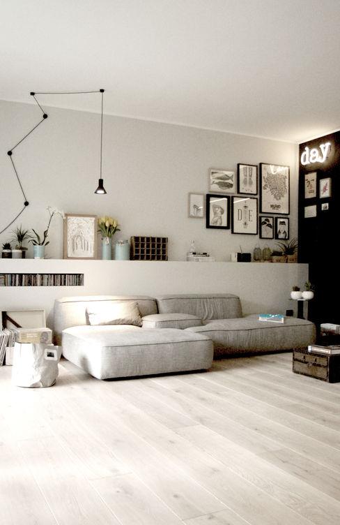 Moodern Ausgefallene Wohnzimmer