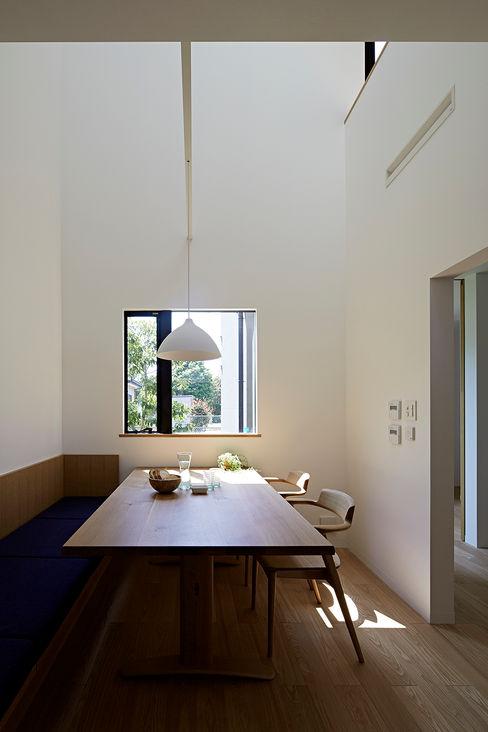 House - KT 佐々木達郎建築設計事務所 モダンデザインの ダイニング