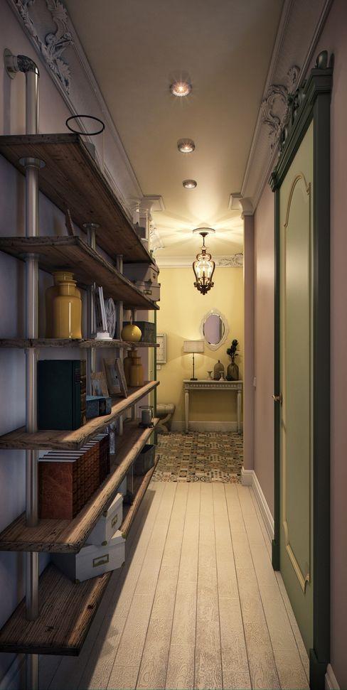 Marina Sarkisyan Salones de estilo ecléctico