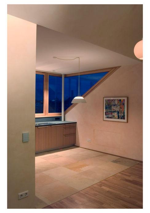 Dachausbau Scharabi Architektur Moderne Wohnzimmer