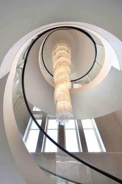 Project 7 Windlesham Flairlight Designs Ltd Corridor, hallway & stairsLighting
