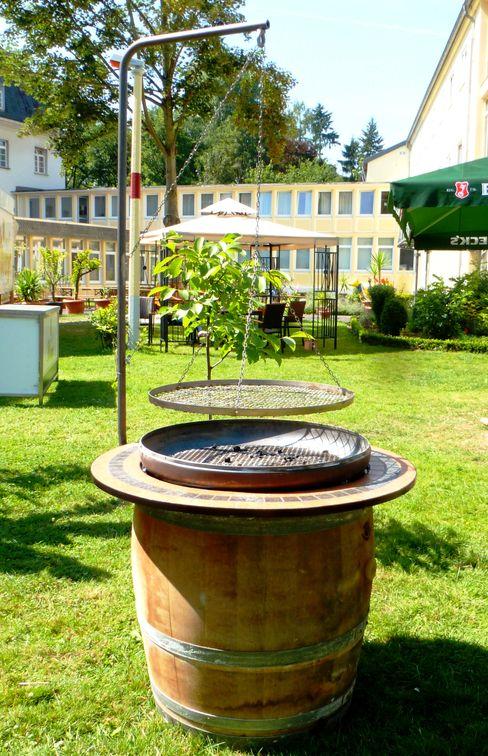 Hermann Maschinenbau GmbH 花園火坑與燒烤