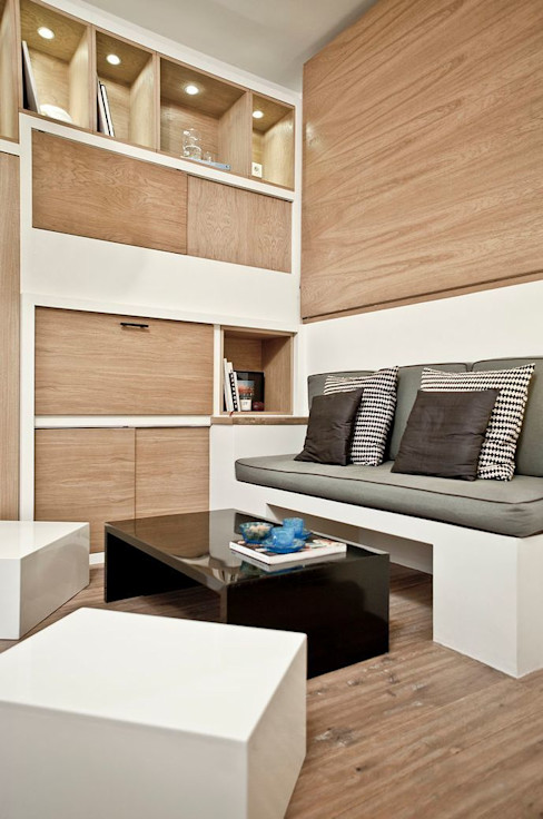 Géraldine Laferté Scandinavian style living room