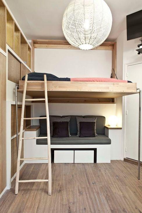 Géraldine Laferté Scandinavian style bedroom