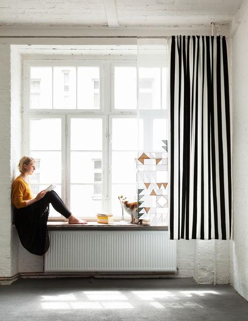 unikatessen Berlin 窗戶與門窗廉與布簾