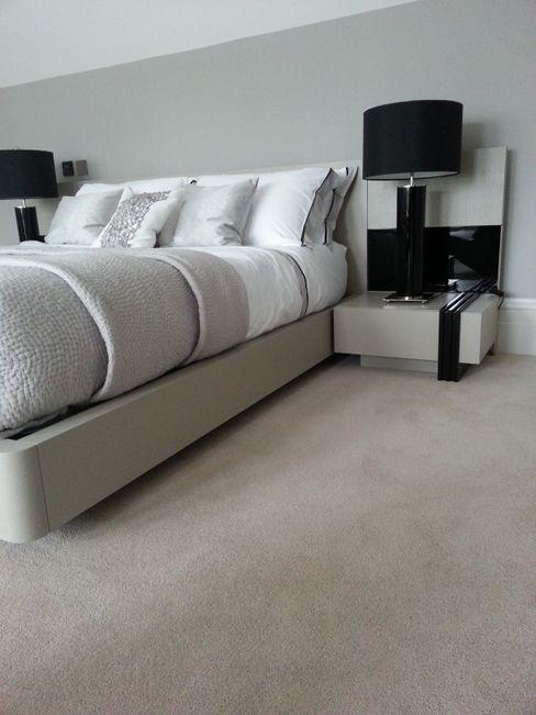 Luxurious Velvet Carpet The Prestige Flooring Company Modern style bedroom