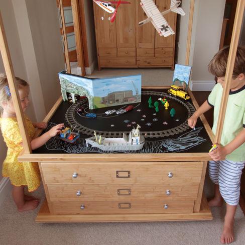 Activity Table & Toy Organiser CONSTRUCTION CENTRE Finoak LTD Nursery/kid's roomDesks & chairs