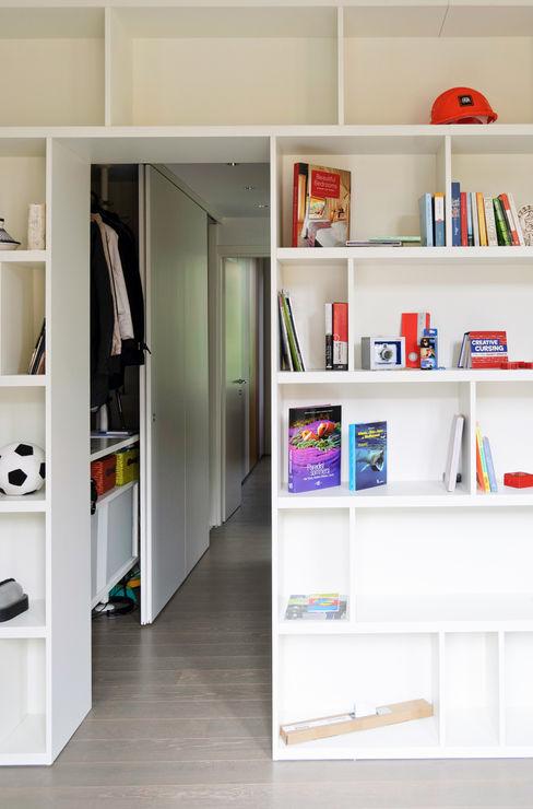 Libreria ingresso e disimpegno PLANAIR ® StudioArmadi & Scaffali