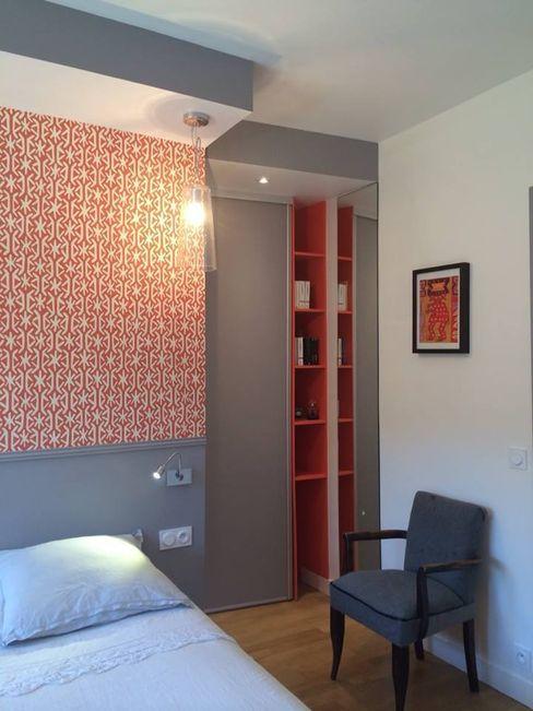 Rénovation chambre sur les quais de Lyon Pepper Butter Moderne Schlafzimmer