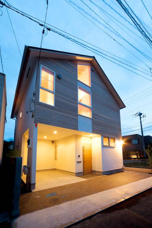 望月建築アトリエ Rumah Gaya Asia