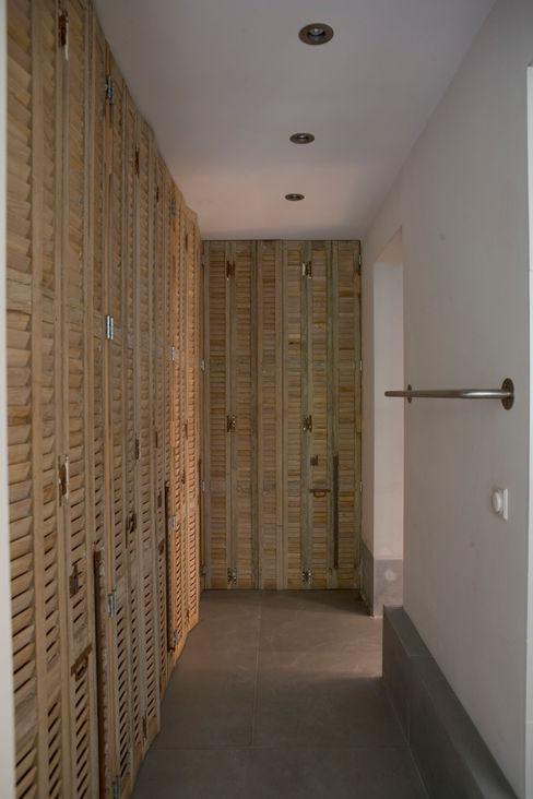 Renovatie en verbouwing woonhuis te Amsterdam Kodde Architecten bna Rustieke kleedkamers