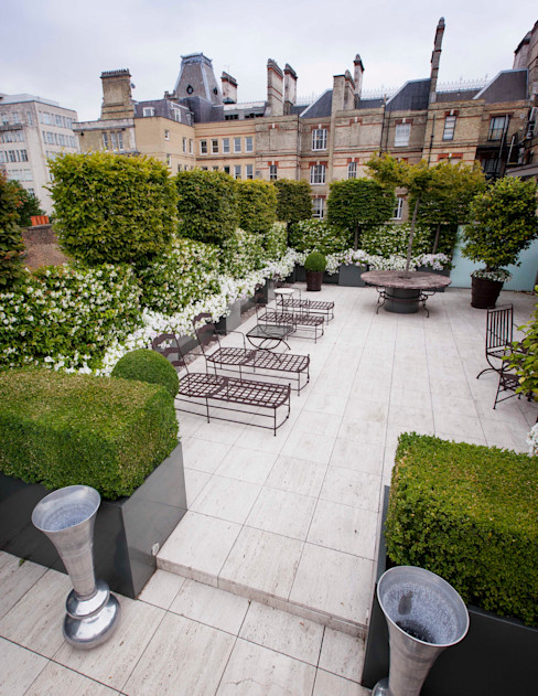 A space to relax in Cameron Landscapes and Gardens Jardin classique