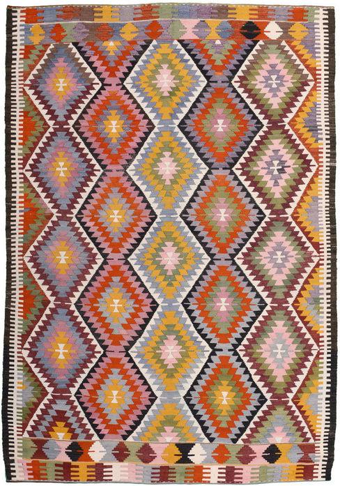 Kelims in mittlerer Größe Kiran Kelim & Teppich Kunst WohnzimmerAccessoires und Dekoration