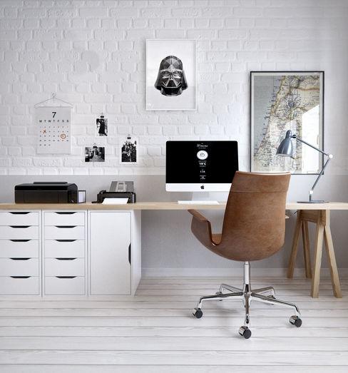 INT2architecture Estudios y despachos de estilo escandinavo