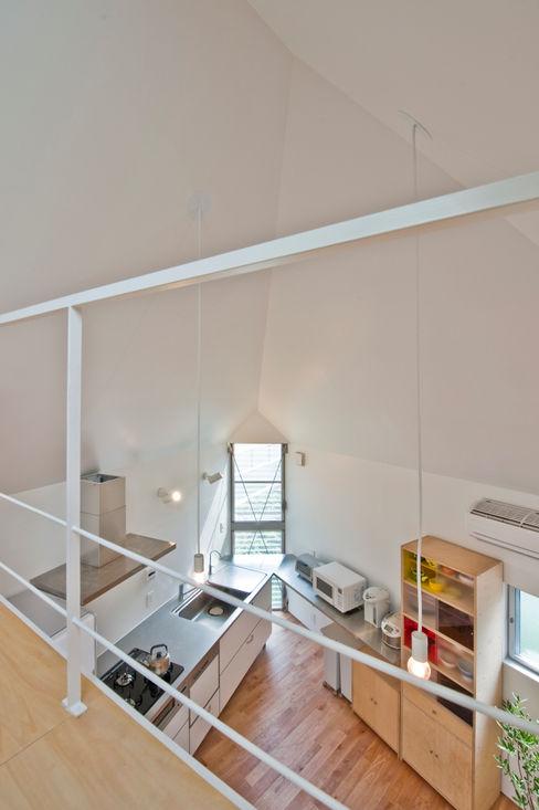 堀ノ内の住宅 水石浩太建築設計室/ MIZUISHI Architect Atelier モダンデザインの ダイニング