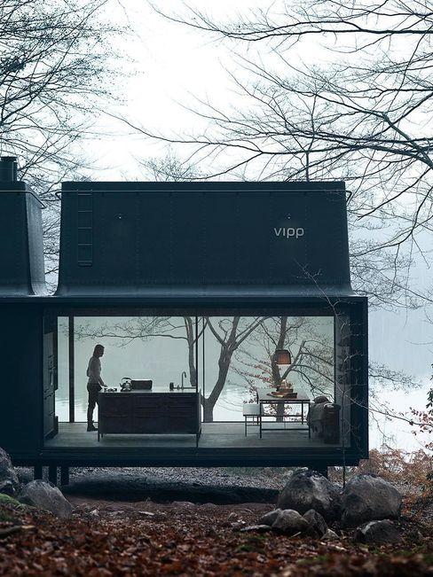 Vipp Shelter Vipp Espacios comerciales de estilo industrial