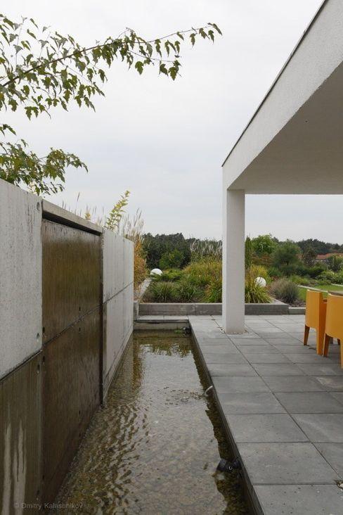PL.architekci Minimalistische tuinen