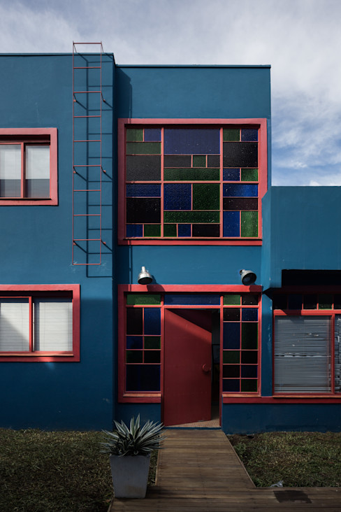 Blacher Arquitetura Rumah Gaya Eklektik