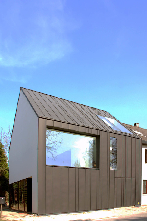 M&J house, Vossem bruno vanbesien architects Casas modernas: Ideas, imágenes y decoración