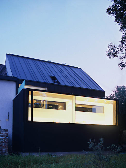M&J house, Vossem bruno vanbesien architects Casas minimalistas