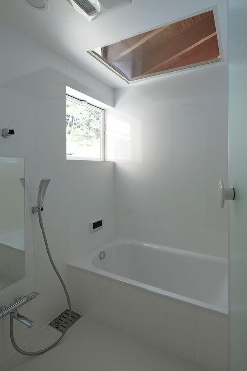 陽傘の家 池田雪絵大野俊治 一級建築士事務所 オリジナルスタイルの お風呂