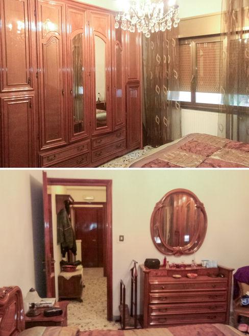 Camera da letto ante operam Fluido Design Studio