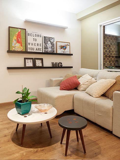 Isabela Bethônico Arquitetura Modern Living Room