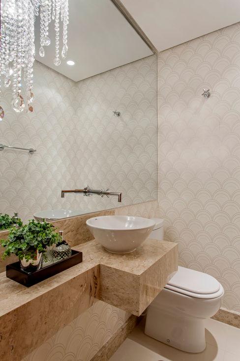 Designer de Interiores e Paisagista Iara Kílaris 現代浴室設計點子、靈感&圖片