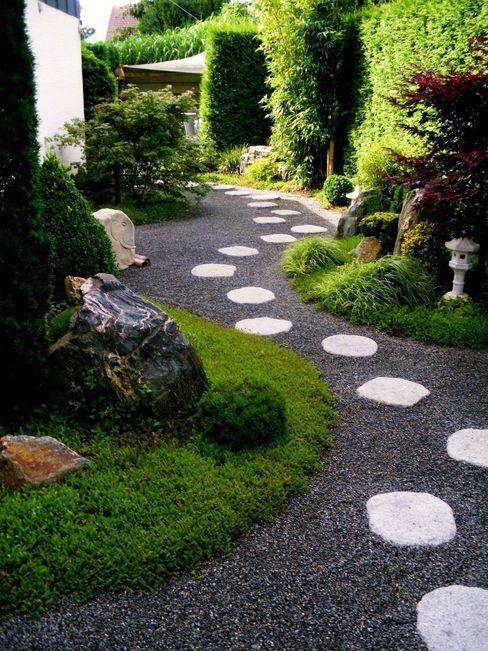 Neues Gartendesign by Wentzel Jardins asiáticos