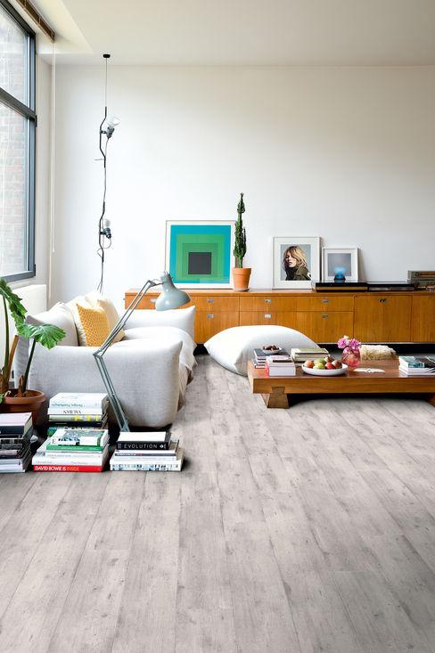 Concrete Wood Light Grey Quick-Step Стіни & ПідлогиНастінні та підлогові покриття