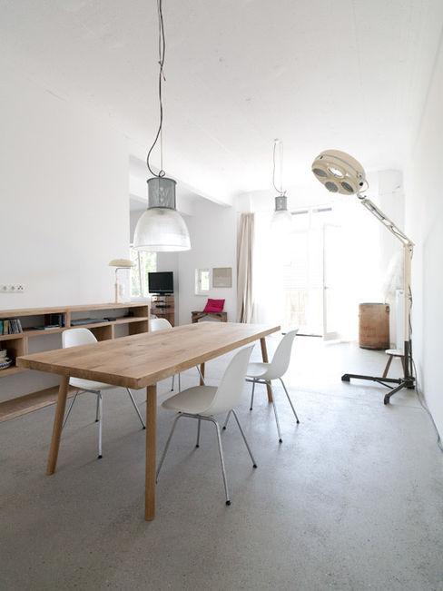 Essbereich Tim Diekhans Architektur Industriale Esszimmer