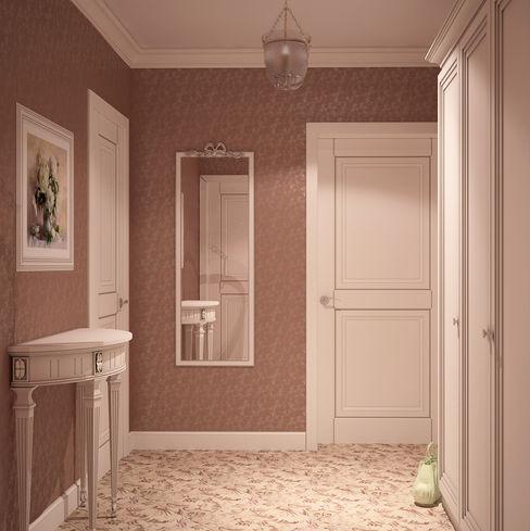 Универсальная история Country style corridor, hallway& stairs