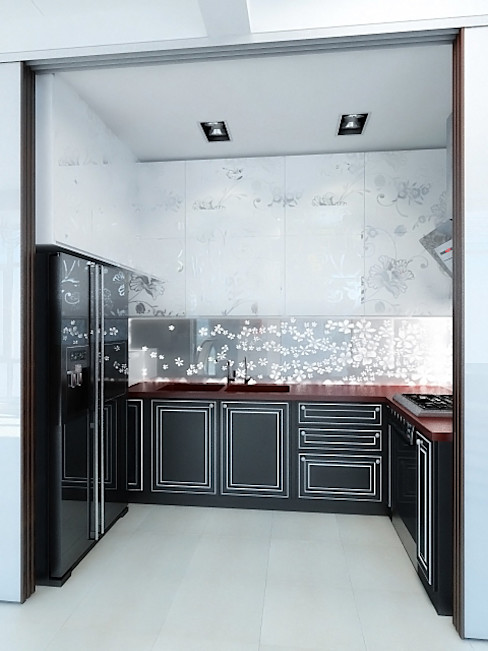 Дизайн студия Александра Скирды ВЕРСАЛЬПРОЕКТ Eclectic style kitchen