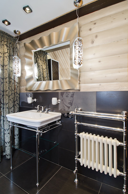Samarina projects Rustic style bathrooms