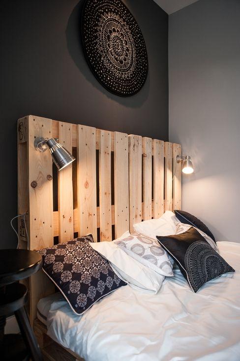 Raca Architekci Scandinavian style bedroom