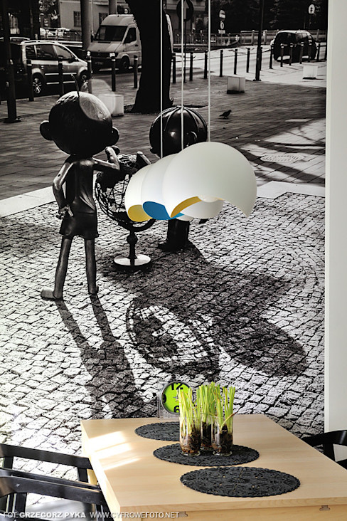 Projekt Kolektyw Sp. z o.o. Scandinavian style dining room