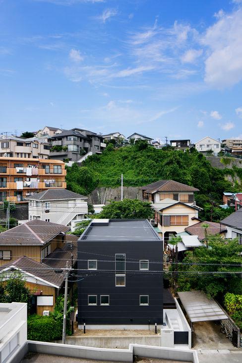 松岡淳建築設計事務所 모던스타일 주택