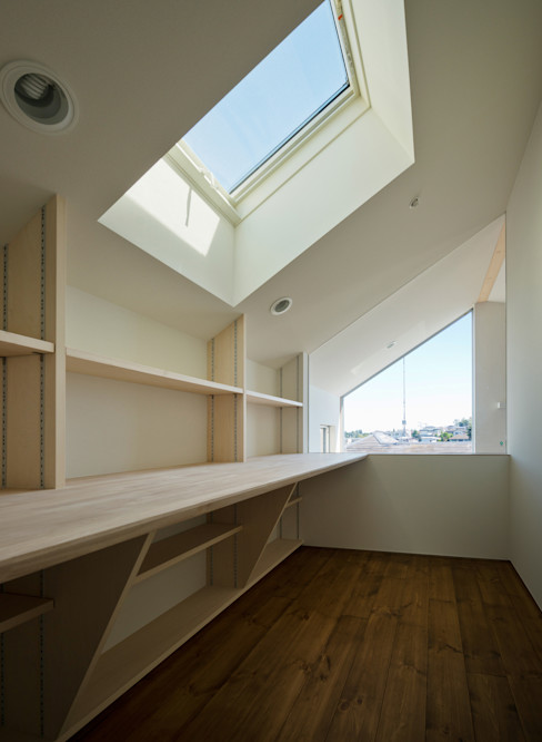 OPERA 充総合計画 一級建築士事務所 オリジナルデザインの 書斎