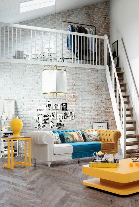 ancona renkli tasarım koltuk Mahir Mobilya İç Dekorasyon