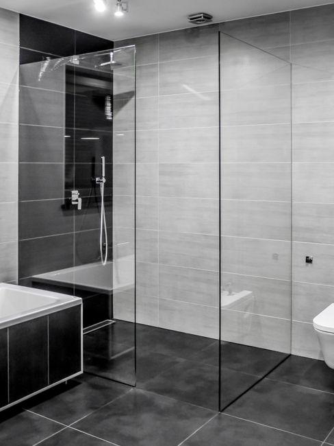 Sałata-Pracownia Architektury Wnętrz Modern style bathrooms