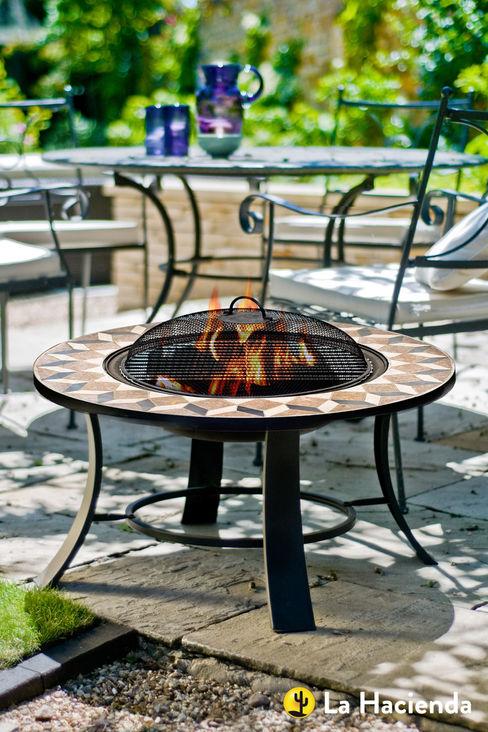 Trieste with grill La Hacienda Garden Fire pits & barbecues