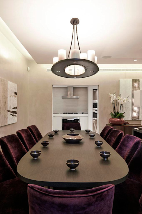 Thornwood Lodge Keir Townsend Ltd. Classic style dining room