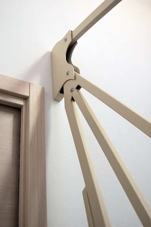 Studio Architettura Arch. Francesca Tronci บันได โถงทางเดิน ระเบียงบันได